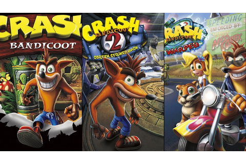 THE ULTIMATE CRASH BANDICOOT TRILOGY STREAM – ALL 3 ...