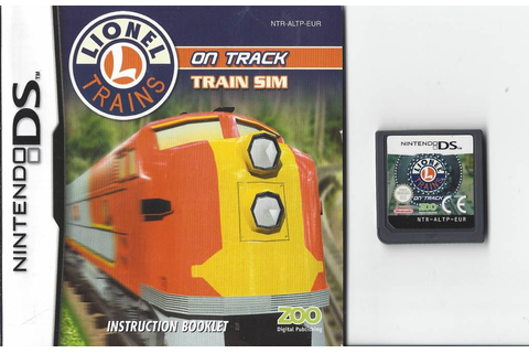 Lionel Trains On Track for Nintendo DS NDS - Passion for ...