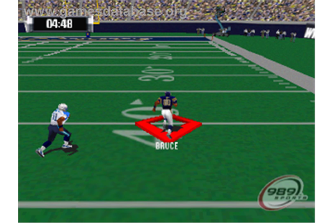 NFL GameDay 2001 - Sony Playstation - Games Database