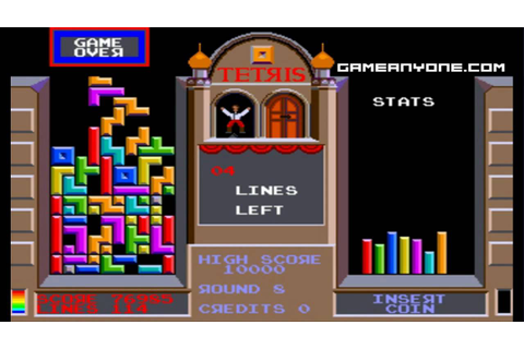 [WHC] Tetris [Atari] (Arcade) [HD] - Part 2 - YouTube