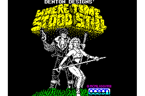 Where Time Stood Still (1988) by Denton Designs ZX ...