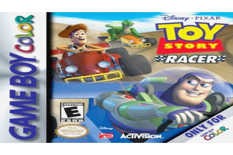 Test de Toy Story Racer sur Game Boy Color - YouTube