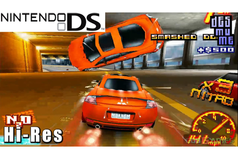 Asphalt: Urban GT 2 - Nintendo DS Gameplay High Resolution ...