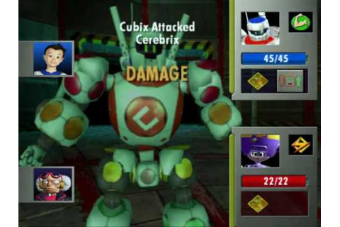 Cubix Robots for Everyone: Showdown (USA) Gamecube ISO ...
