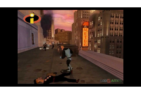The Incredibles - Gameplay PS2 (PS2 Games on PS3) - YouTube