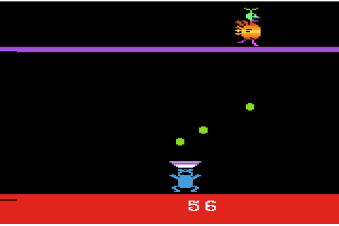 AtariAge - Atari 2600 Screenshots - Eggomania (U.S. Games)