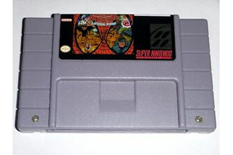 The Amazing Spider-man - Lethal Foes - game For SNES Super ...