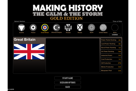 Leader Lobbies image - Time of War mod for Making History ...