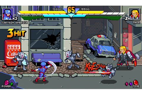 Tiny Avengers a Unity based Beat'em up, the most ...