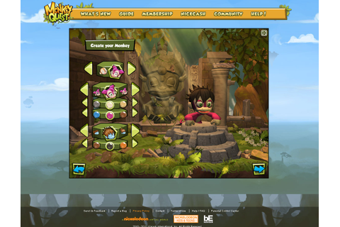 Monkey Quest (Review) | Web Game 360