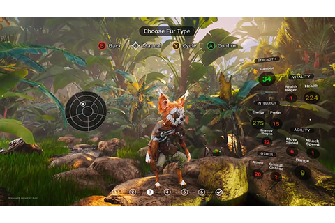 11 minutes of Biomutant Gamescom 2017 gameplay - Gematsu