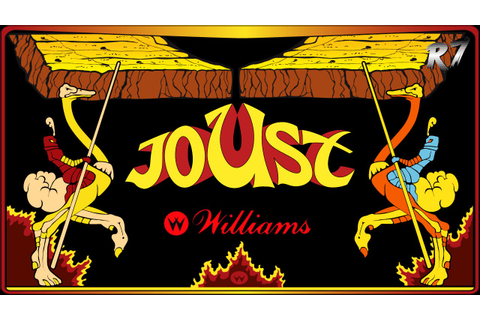 Joust | 1982 | Arcade | Gameplay | HD 720p 60FPS - YouTube