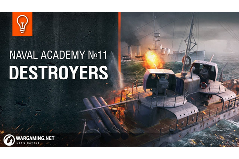 Naval Academy: Destroyers - YouTube