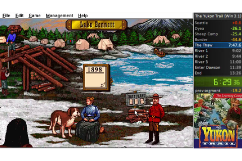 The Yukon Trail - (Any% Windows 3.1) WORLD RECORD in 11m ...