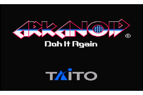Arkanoid - Doh It Again (Europe) ROM