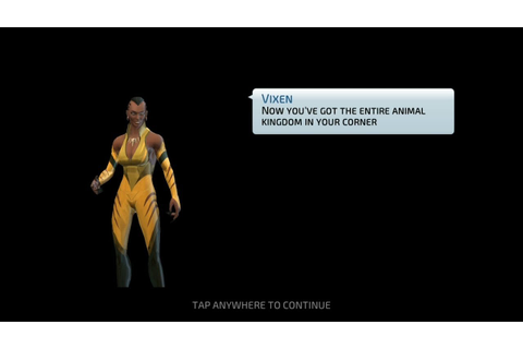 Vixen Unlocked | DC Legends - YouTube