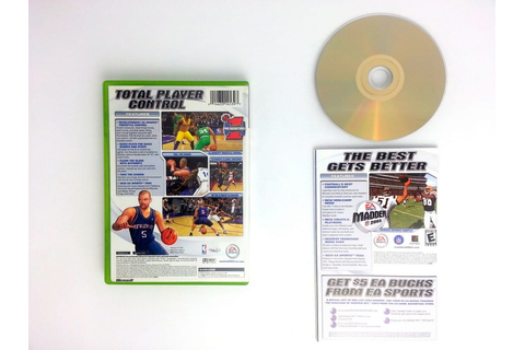 NBA Live 2003 game for Xbox (Complete) | The Game Guy