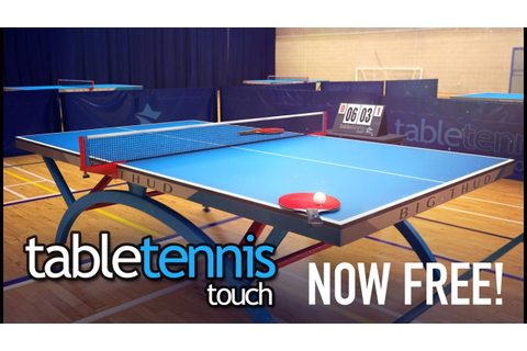 Table Tennis Touch - NOW FREE! - YouTube