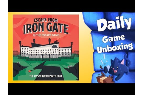 Escape From Iron Gate - Daily Game Unboxing - YouTube