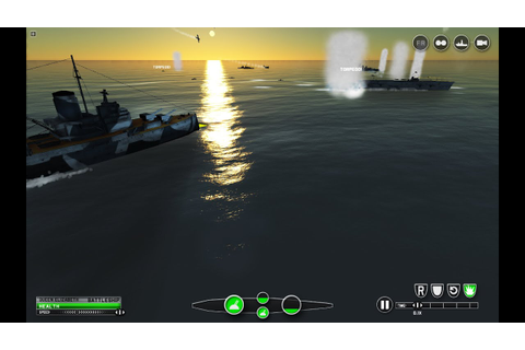 Victory at Sea game - World War 2 Real Time Strategy ...