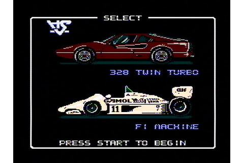 Download Rad Racer (NES) - My Abandonware