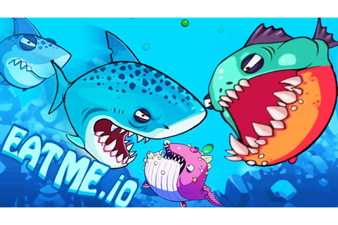 Eatme.io New iO Game Agar.io With Monster Fish War! - YouTube