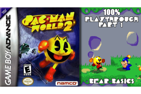 Pac-Man World 2 GBA 100% Playthrough - Part 1 - YouTube