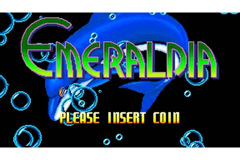 Emeraldia (Namco 1993) Attract Mode 60fps - YouTube