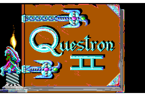Questron II (1988) by Westwood Studios MS-DOS game
