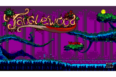 TANGLEWOOD® - a new game for SEGA Mega Drive - TANGLEWOOD®