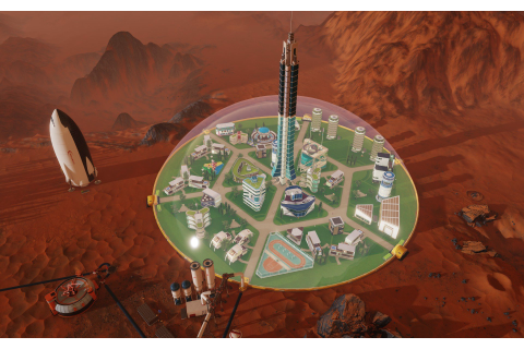 Enjoy Cities: Skylines? Paradox's 'Surviving Mars' will ...
