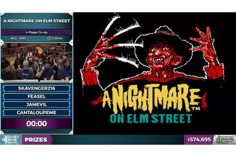 A Nightmare on Elm Street Coop in 25:23 - AGDQ 2017 - YouTube