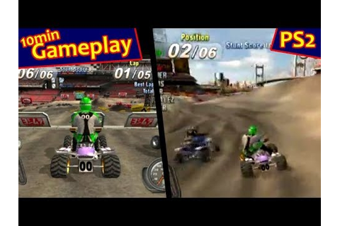 ATV Offroad Fury 3 ... (PS2) - YouTube