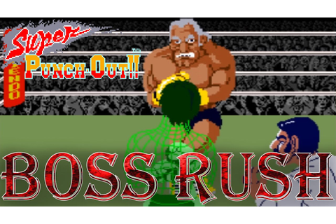 Super Punch-Out!! (Arcade) - Boss Rush (All Opponents, No ...