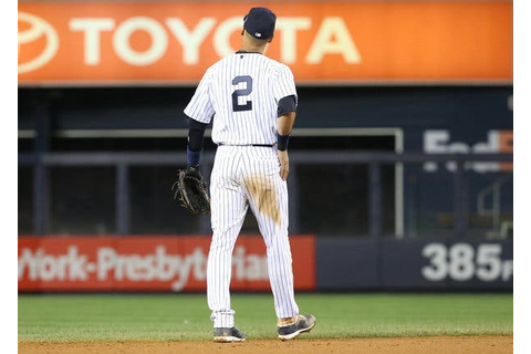 Derek Jeter's No. 2, Never to Be Seen Again on Pinstripes ...