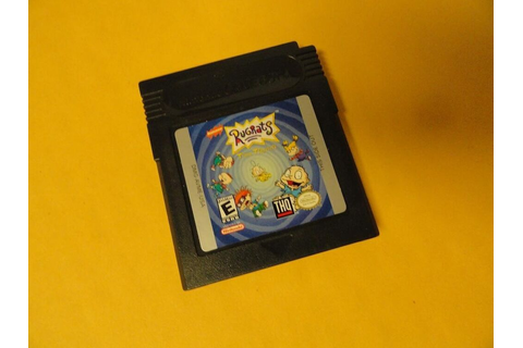 Rugrats Time Travelers for the Nintendo Game Boy Color ...