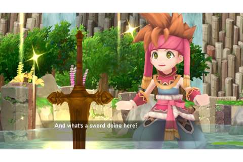 Secret of Mana remake announced for PS4, Vita, and Steam ...