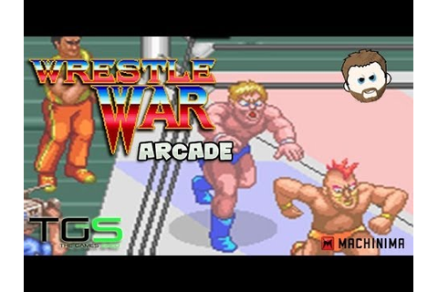 Wrestle War - Retro Gaming Arcade Mayhem - YouTube