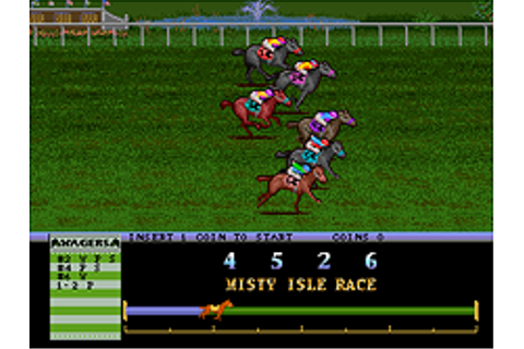 Arlington Horse Racing (v1.21-D) - Mamepedia - all mame ...