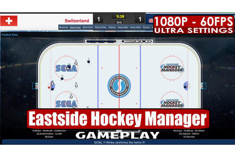 Eastside Hockey Manager gameplay PC HD [1080p/60fps] - YouTube