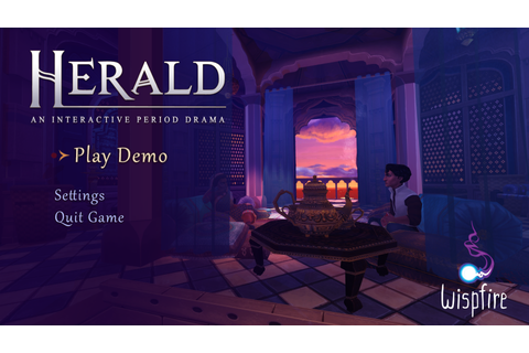 Herald: An Interactive Period Drama :: Free Demo now ...
