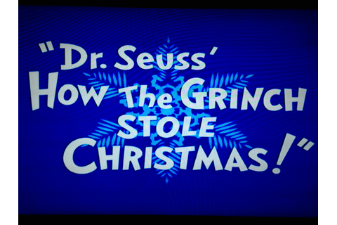 Dr. Seuss' How the Grinch Stole Christmas! | Gay Geek Gab