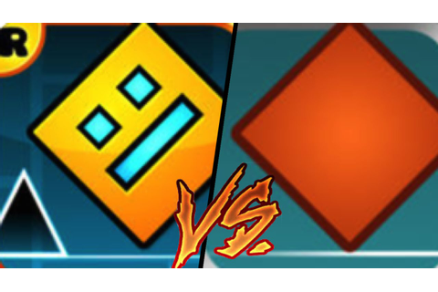 Geometry Dash VS The Impossible Game | Gameplay Review ...