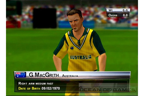 free download cricket 2005 game for pc full version