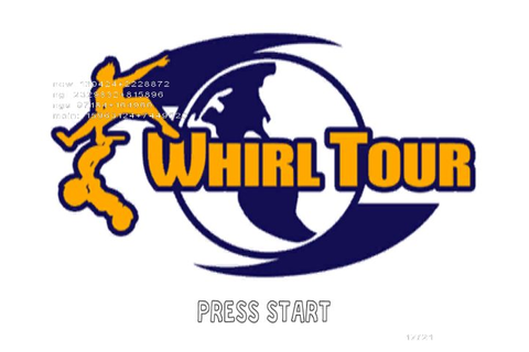 Whirl Tour (2002) by Papaya Studio GameCube game