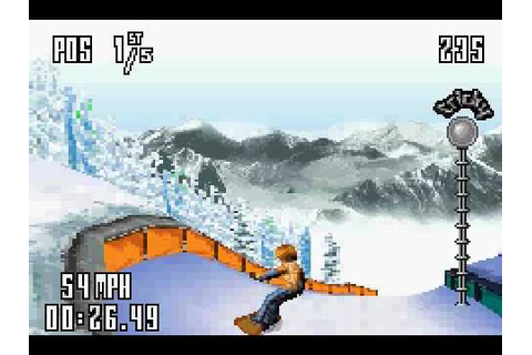 SSX Tricky (GBA) Gameplay - YouTube