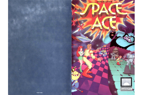 Atari ST Space Ace : scans, dump, download, screenshots ...