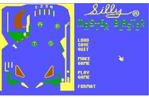 Pinball Construction Set Download (1985 Utility Game)