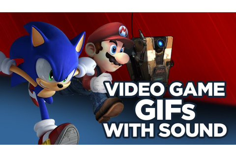 Video Game GIFs with Sound - YouTube