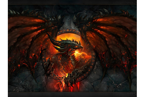 World Of Warcraft Dragon Deathwing Lava Wow Fire World Of ...